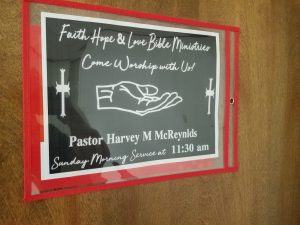 Pastor Harvey McReynolds
