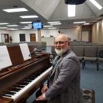 Pastor Bruce at Piano